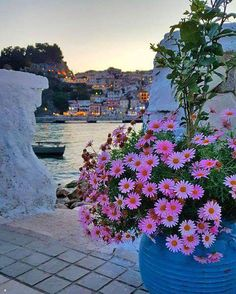 "elladaa: "" Πάργα ~ Parga, prefecture of Preveza "" Myconos, Sailing Holidays, Greek Isles, Voyage Europe, Greece Islands, Greece Travel, Belle Photo, Nature Photos, Wonders Of The World"