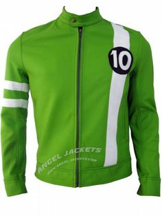 $189.00 - Ben 10 Leather Jacket