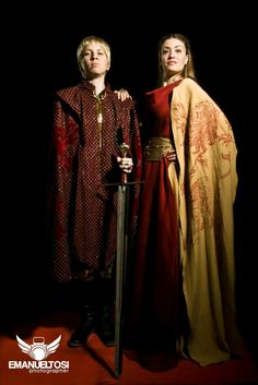 Cersei And Joffrey Cosplay by CantoriDelWesteros