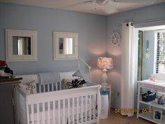 something about the homey feeling of this nursery is comfy