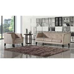 DG Casa Prescott Sofa and Chair Set