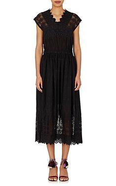 Ulla Johnson Savannah Midi-Dress - Mid - Barneys.com