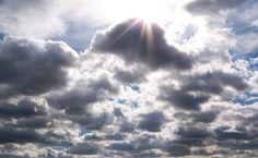 Alto cumulus clouds