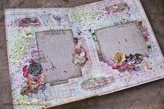 Elena Morgun: Inside of Mixed media album - July 2013