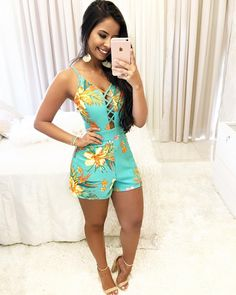 Girly Outfits, Outfits For Teens, Stylish Outfits, Fall Outfits, Summer Outfits, Cute Outfits, Look Fashion, Fashion Outfits, Womens Fashion
