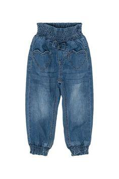 jeans fra Hust and ClaireSupergod jeans med god og bred strikk i livet og  nederst i 2d1c6c26daae4