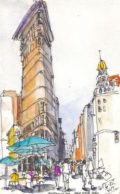 Falling in love with the world, one sketch at a time | Urban Sketchers