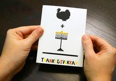 Thanksgiving and the first day of Hanukkah overlap this year