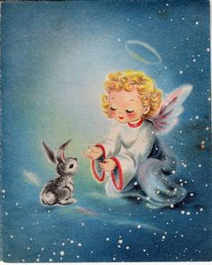 vintage pink angel in Collectibles Vintage Christmas Images, Retro Christmas, Vintage Holiday, Christmas Pictures, Vintage Greeting Cards, Christmas Greeting Cards, Christmas Greetings, Vintage Postcards, Christmas Past
