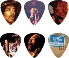 Amazon.com : Dunlop Jimi Hendrix Hear My Music Pick Tin with 6 Medium Picks : Guitar Picks : Musical Instruments