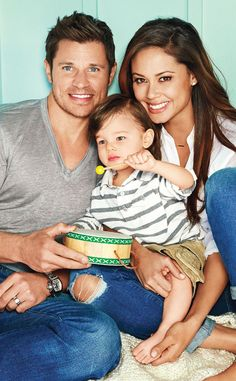Nick and Vanessa Lachey pose with their son Camden for Parents Magazine. This family is TOO CUTE!