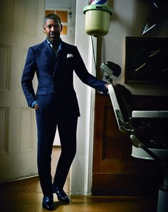 Denzel Washington. Very handsome and a fantastic actor. If he's in it - you know it's gonna be good.