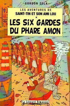 Les Aventures de Tintin - Album Imaginaire - Les Six Gardes du Phare Amon