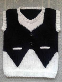 Sweater Knitting Patterns, Knitting Stitches, Knit Patterns, Knitting Help, Baby Boy Knitting, Baby Poncho, Baby Vest, Knit Baby Sweaters, Knitted Baby Clothes