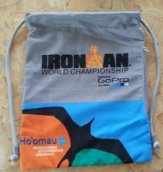Ironman World Championship 2014 Triathlon Kona Hawaii Drawstring Bag Sack | eBay