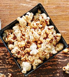 Can't decide whether to make sweet or savory popcorn? With this recipe, you can make both: a spicy, zesty variety for those who crave savory, plus a maple version with warming spices for those with a sweet tooth.