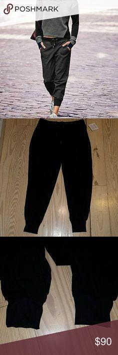 NWT Athleta city jogger pants black lined 2P New with tags Athleta Pants Track Pants & Joggers