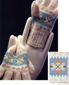 Fair Isle mittens and gloves (charts) - Monika Romanoff - Picasa Web Albums
