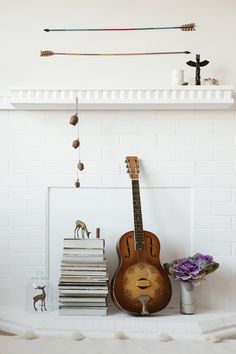 Non-functioning fireplace ideas   Lonny.com