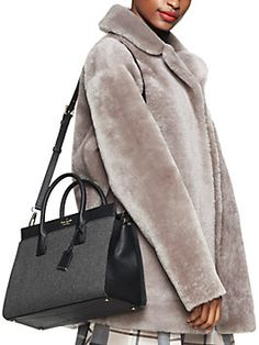 cameron street flannel candace satchel by kate spade new york