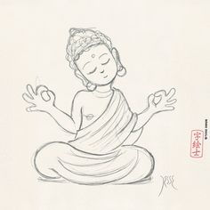 Image result for simple buddha head paintings