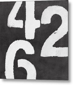 Even Numbers Metal Print By Linda Woods