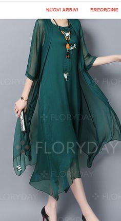 Latest fashion trends in women's Dresses. Shop online for fashionable ladies' Dresses at Floryday - your favourite high street store. Mother Of Groom Dresses, Mothers Dresses, Women's Fashion Dresses, Floryday Dresses, Spring Dresses, Dress Patterns, Designer Dresses, Ideias Fashion, Gowns