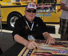 """Tom """"The Mongoose"""" McEwen at Indy 2013"""