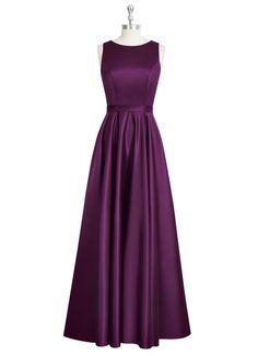 AZAZIE JAKAYLA. Jakayla is a floor-length A-line dress with a boat neckline…