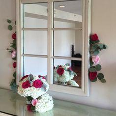 #roses #hydrangea #pinkflowers #weddingflowers #wedding #easternshorewedding #easternshoreweddings #dvflora  @theoakswaterfrontweddings by seasonal_flowers_trappe
