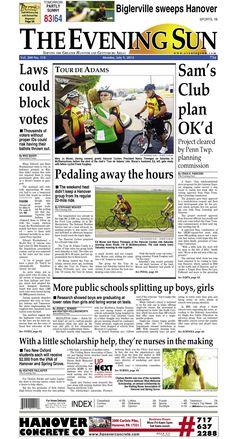 The Evening Sun, Monday, July 9, 2012