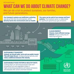 We can do a lot about climate change! Take a stand today. via World Health Organization (WHO) #timetoswipe #climatechange #greenenergy #globalwarming Ministry of Environment, Forest and Climate Change