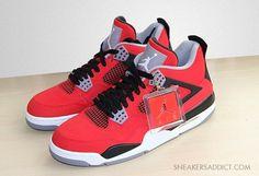 Air Jordan 4 Fire Red Nubuck
