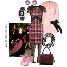 """Buttoned and wrapped"" by maria-kuroshchepova on Polyvore"