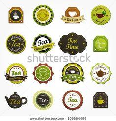 tea vector vintage - Buscar con Google