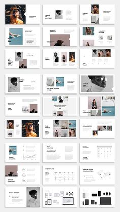 BOSH - Keynote Template  #keynote #presentationtemplates #powerpoint #slides #businesstemplates #keynotetemplates Design Portfolio Layout, Page Layout Design, Portfolio Ideas, Powerpoint Design Templates, Keynote Template, Graphic Design Layouts, Brochure Design, Power Point Ideas, Design Presentation