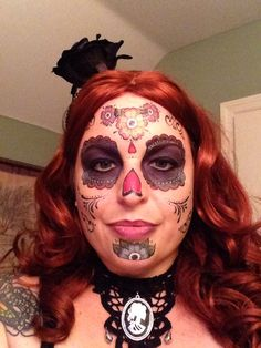 My Halloween face #dia de Los muertos
