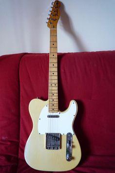 Fender telecaster 1973 blonde maple neck