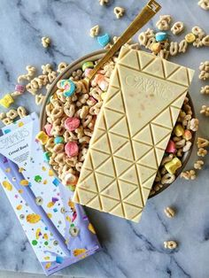 CEREAL BOWL White Chocolate & Cereal - Chocolate Bar - Compartes Chocolatier Gourmet Chocolate - 1