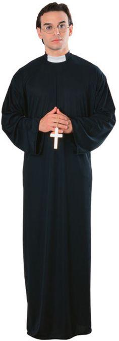 Adult Priest Halloween Costume