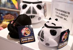 'Angry Birds Star Wars' look at that pig nose