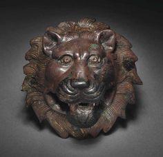 A ROMAN BRONZE LION-HEAD ATTACHMENT | CIRCA 2ND CENTURY A.D. | Ancient Art & Antiquities Auction | 2nd Century, Ancient Art & Antiquities | Christie's