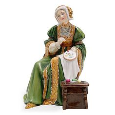 Anne of Cleves HN3356 - Royal Doulton Figurine - Six Wives of Henry VIII Collection