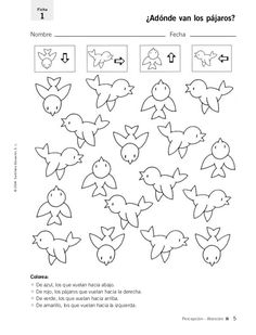 Birds for backgrounds Preschool Worksheets, Preschool Activities, Kids Education, Special Education, Graphic Organizers, Kindergarten Math, Kids And Parenting, Kids Learning, Montessori