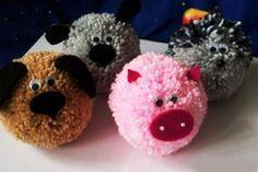 yarn crafts for kids | art ideas crafts