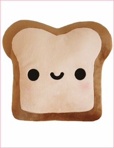 Happy toast, burnt toast! Owning this would make my face as happy the happy toast.
