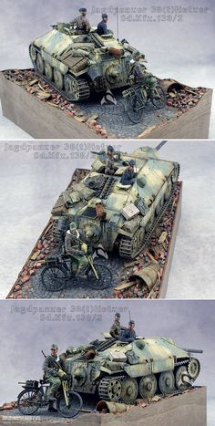 Tamiya Model Kits, Tamiya Models, Military Diorama, Military Art, Tank Destroyer, Model Tanks, Military Modelling, Ww2 Tanks, Model Ships