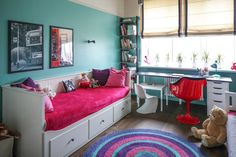 детская комната в интерьере 3-комнатной квартиры