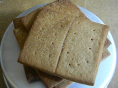 Homemade Graham Crackers Recipe! #graham #crackers