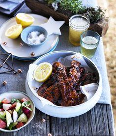 Three Blue Ducks' spicy Bourbon pork, Byron Bay :: Gourmet Traveller